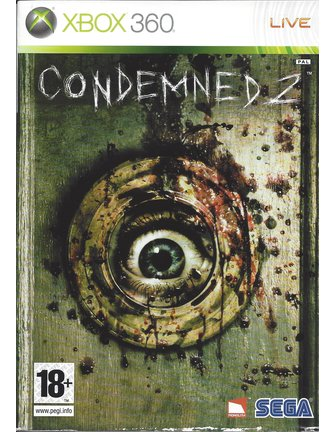 CONDEMNED 2 for Xbox 360