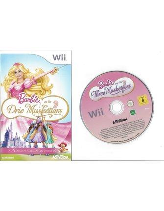 BARBIE EN DE DRIE MUSKETIERS voor Nintendo Wii