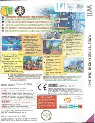 FAMILY TRAINER EXTREME CHALLENGE für Nintendo Wii