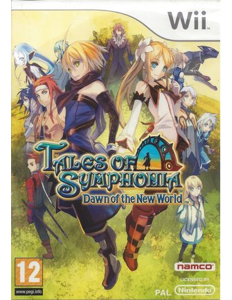 TALES OF SYMPHONIA DAWN OF THE NEW WORLD for Nintendo Wii