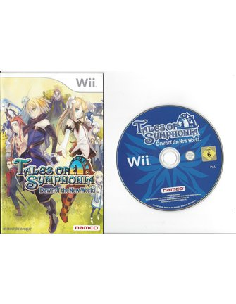 TALES OF SYMPHONIA DAWN OF THE NEW WORLD voor Nintendo Wii