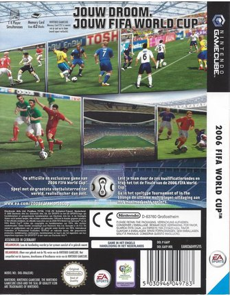 2006 FIFA WORLD CUP for Nintendo Gamecube