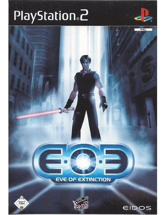 EOE EVE OF EXTINCTION für Playstation 2 PS2