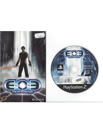 EOE EVE OF EXTINCTION voor Playstation 2 PS2