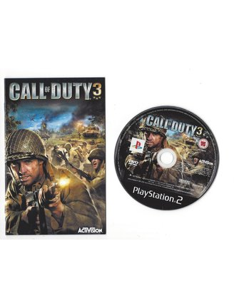 CALL OF DUTY 3 voor Playstation 2 PS2 - Platinum
