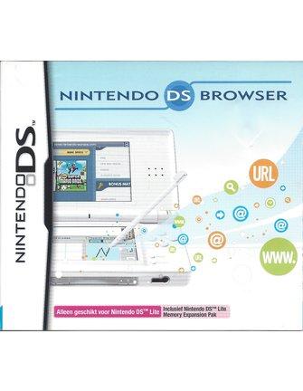 NINTENDO DS BROWSER voor Nintendo DS