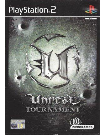 UNREAL TOURNAMENT für Playstation 2 PS2