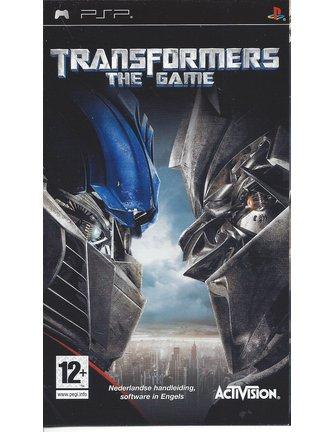 TRANSFORMERS THE GAME für PSP