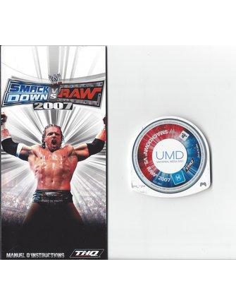 WWE SMACKDOWN VS RAW 2007 for PSP
