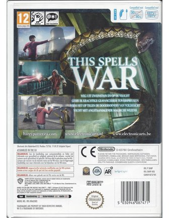 HARRY POTTER AND THE DEATHLY HALLOWS PART 1 voor Nintendo Wii