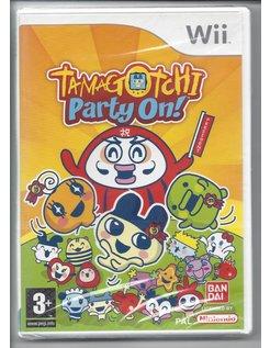 TAMAGOTCHI PARTY ON voor Nintendo Wii - NIEUW in seal