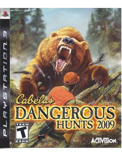 CABELA'S DANGEROUS HUNTS 2009 for Playstation 3 PS3