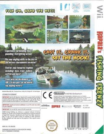 RAPALA'S FISHING FRENZY für Nintendo Wii
