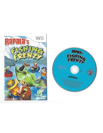 RAPALA'S FISHING FRENZY for Nintendo Wii