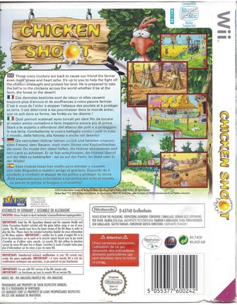 CHICKEN SHOOT for Nintendo Wii