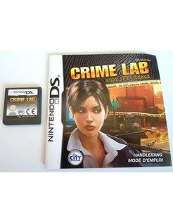 CRIME LAB - BODY OF EVIDENCE voor Nintendo DS