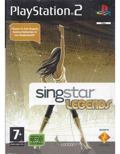 SINGSTAR LEGENDS für Playstation 2 PS2