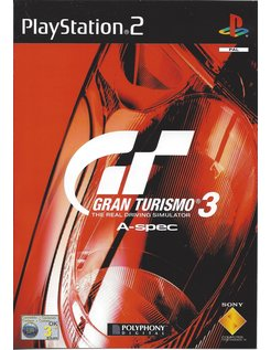 GRAN TURISMO 3 A-SPEC for Playstation 2 PS2