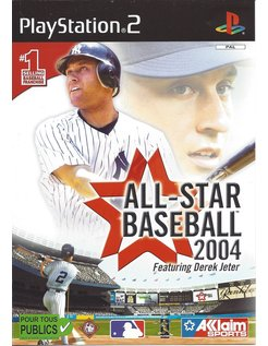 ALL-STAR BASEBALL 2004 voor Playstation 2 PS2