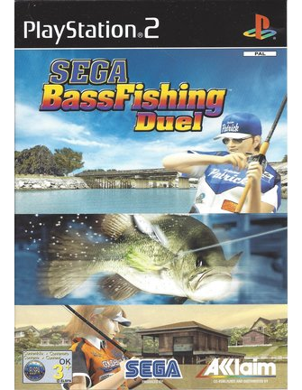 SEGA BASS FISHING DUEL voor Playstation 2 PS2