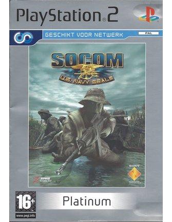 SOCOM US NAVY SEALS for Playstation 2 PS2 - with box & manual