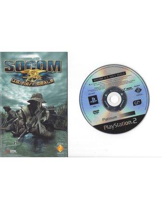 SOCOM US NAVY SEALS voor Playstation 2 PS2 - met doosje en handleiding