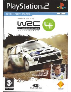 WRC 4 - FIA WORLD RALLY CHAMPIONSHIP for Playstation 2 PS2