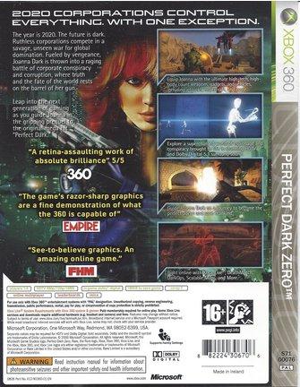 PERFECT DARK ZERO voor Xbox 360