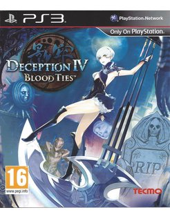 DECEPTION IV BLOOD TIES for Playstation 3 PS3