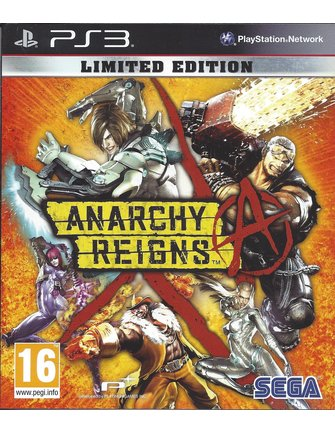 ANARCHY REIGNS voor Playstation 3 PS3