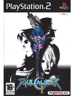 SOUL CALIBUR II voor Playstation 2 PS2 - manual in het Nederlands