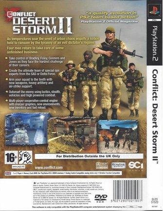 CONFLICT DESERT STORM II (2) für Playstation 2 PS2