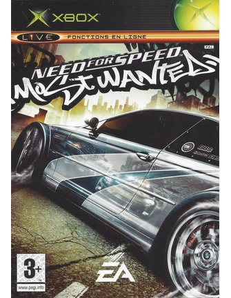 NEED FOR SPEED MOST WANTED voor Xbox