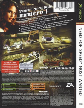 NEED FOR SPEED MOST WANTED für Xbox
