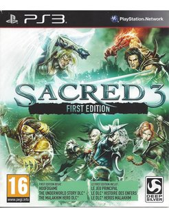 SACRED 3 FIRST EDITION voor Playstation 3 PS3