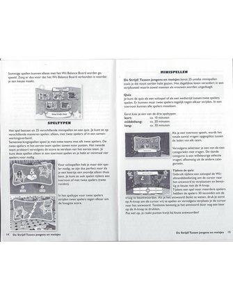 DE STRIJD TUSSEN JONGENS EN MEISJES voor Nintendo Wii