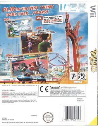 THRILLVILLE OFF THE RAILS für Nintendo Wii