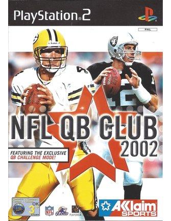 NFL QB CLUB 2002 voor Playstation 2 PS2