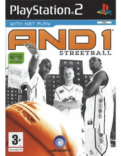 AND 1 STREETBALL for Playstation 2 PS2
