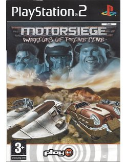 MOTORSIEGE WARRIORS OF PRIMETIME voor Playstation 2 PS2