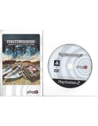 MOTORSIEGE WARRIORS OF PRIMETIME for Playstation 2 PS2