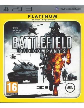 BATTLEFIELD BAD COMPANY 2 voor Playstation 3 - Platinum