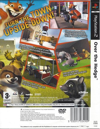 OVER THE HEDGE voor Playstation 2 PS2