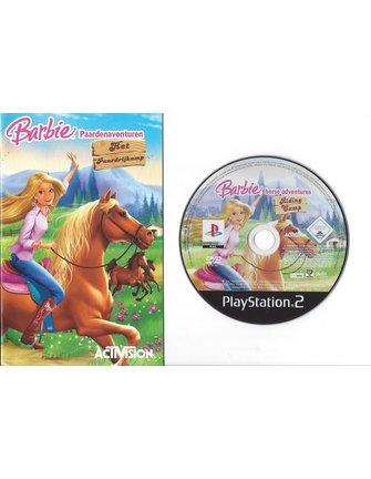 BARBIE PAARDENAVONTUREN - HET PAARDRIJKAMP für Playstation 2 PS2