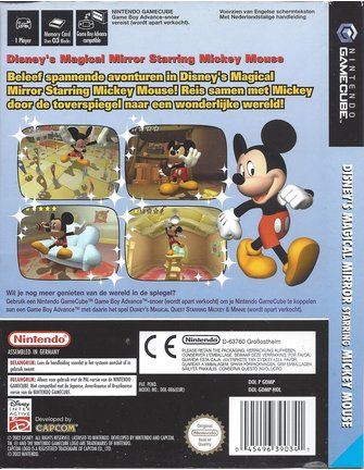 DISNEY'S MAGICAL MIRROR STARRING MICKEY MOUSE for Gamecube