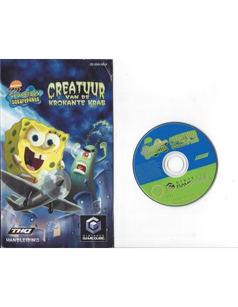 SPONGEBOB SQUAREPANTS - CREATUUR VAN DE KROKANTE KRAB for Nintendo Gamecube