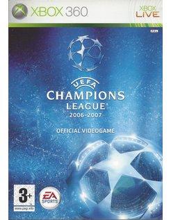 UEFA CHAMPIONS LEAGUE 2006-2007 for Xbox 360