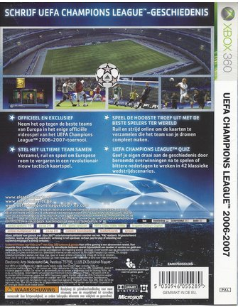 UEFA CHAMPIONS LEAGUE 2006-2007 for Xbox 360