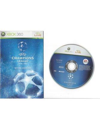 UEFA CHAMPIONS LEAGUE 2006-2007 voor Xbox 360