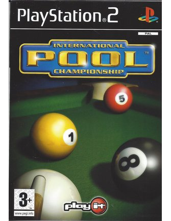 INTERNATIONAL POOL CHAMPIONSHIP voor Playstation 2 PS2